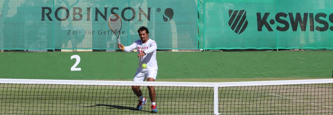 Tennis mit Tony Soysal