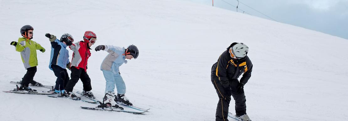 Wintersport Schlanitzen Alm