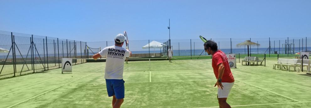 Tennis im Club