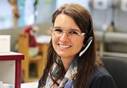 Manuela Krupp von der Hotline