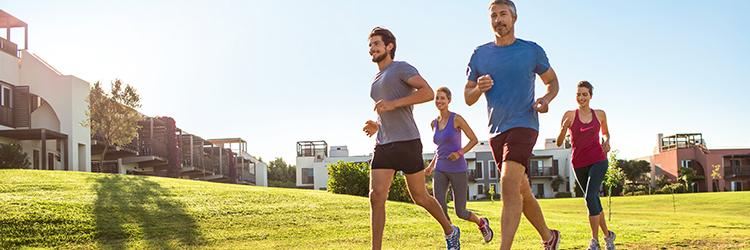 Sport und Fitness Banner