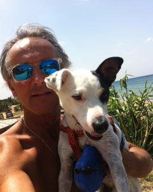 Gunther mit Hund