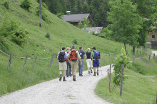 Wandergruppe Aldiana Hochkönig