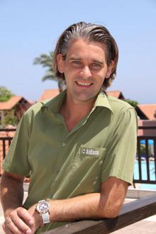 Clubdirektor Walter Kril