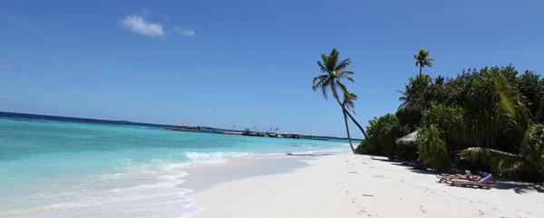 Traumhafter Strand auf den Malediven