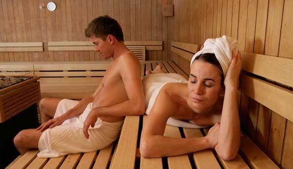 Sauna ist gesund