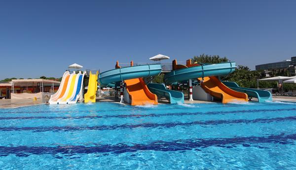 Wasserrutschen Cluburlaub