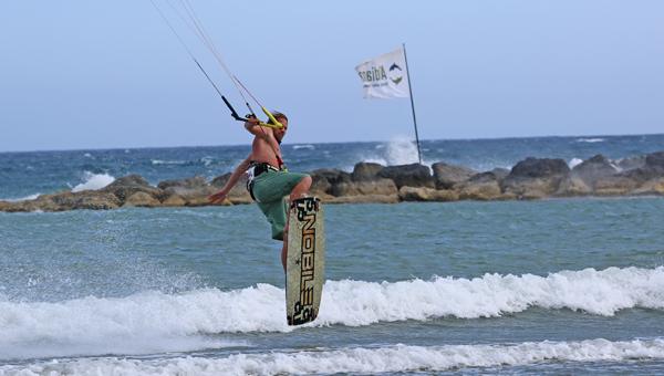 Kiten auf Zypern