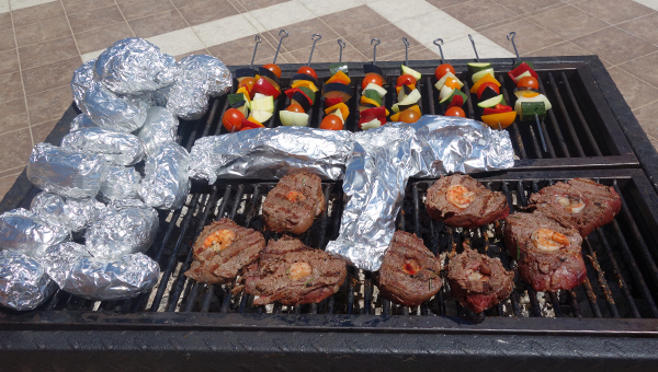 Gegrilltes