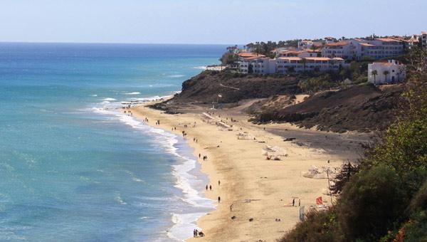 Ausblick Strand