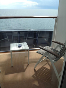 Balkonkabine