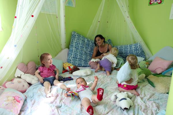 Liebevolle Kinderbetreuung bei Aldiana