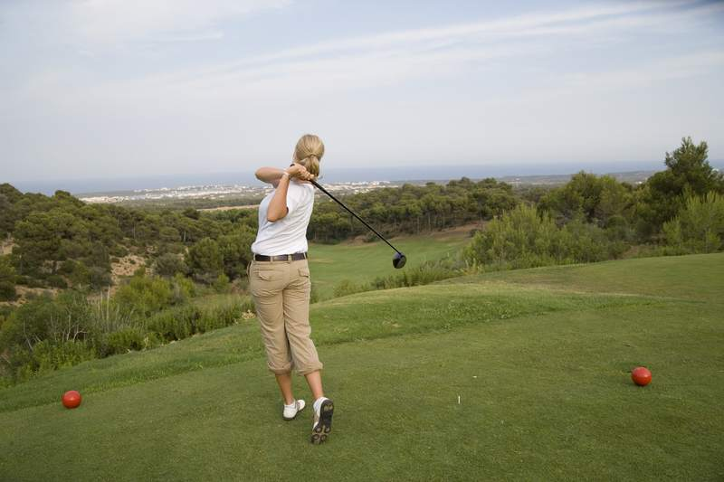 Golf im Club Cala Serena