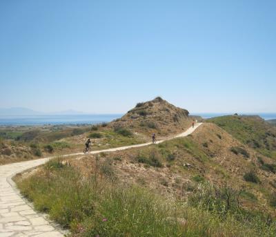 Panorama-Plattenweg