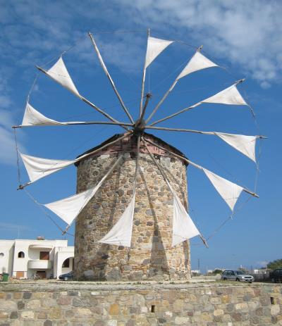 Schöne Windmühle