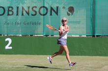 Tennis Spielerin