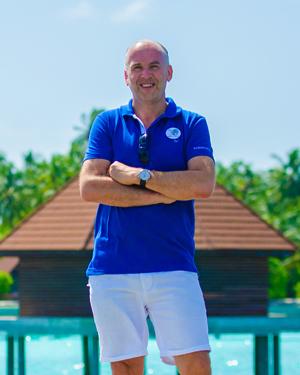 Clubdirektor Bert Goebel