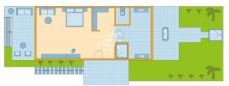 Doppelzimmer Meerblick