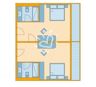 Familien/Doppelzimmer