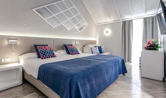 Doppelzimmer/Einzelzimmer im Bungalow mit Meerblick