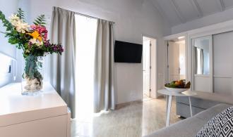 Doppelzimmer/Dreibettzimmer im Bungalow mit Meerblick