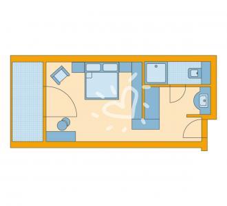 Einzelzimmer/Doppelzimmer Standard
