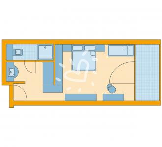 Einzelzimmer/Doppelzimmer Superior
