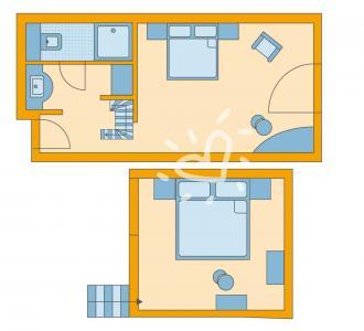 Aldiana Club Ampflwang Familienzimmer Mansarde