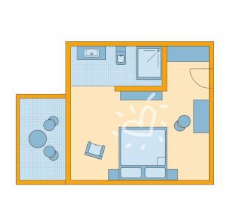 Doppelzimmer 1. Obergeschoss