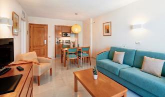 Appartement Typ1 (Wohnzimmer)