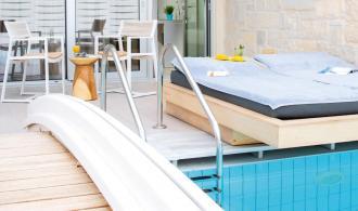 Doppelzimmer mit Pool Zugang