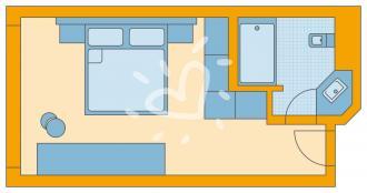 Doppelzimmer Seeseite