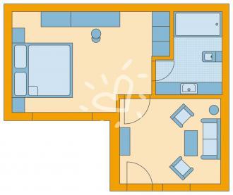 Doppelzimmer/ Einzelzimmer Superior