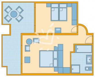 Vierbettzimmer