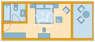 Doppelzimmer Typ A