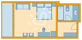 Doppelzimmer Typ B