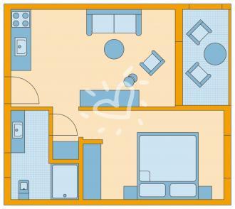 Familienzimmer Economy