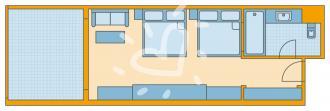 Doppelzimmer Bungalow