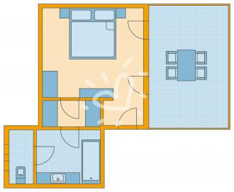 Doppelzimmer Sharing Pool