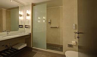 Doppelzimmer Economy Badezimmer