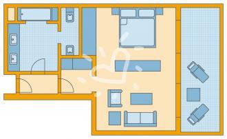 Doppelzimmer Sea Side