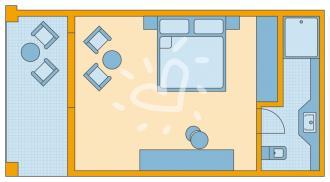Doppelzimmer Typ2