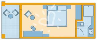 Doppelzimmer Typ3