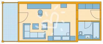 Single mit Kind-Zimmer