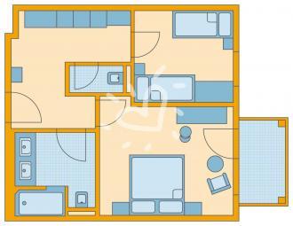 Familienzimmer Standard