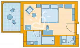 Familien-/Doppelzimmer