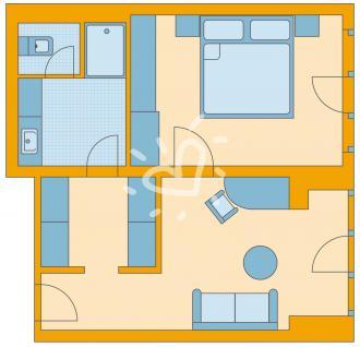 Familien-/Dreibettzimmer