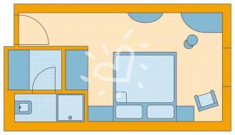 Single-mit-Kind-Zimmer Standard