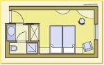 Doppelzimmer Typ 1 (DZX1)
